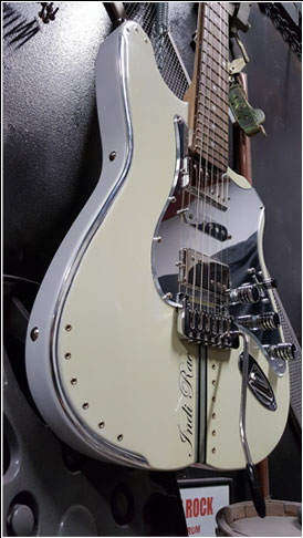 White Guitar 1